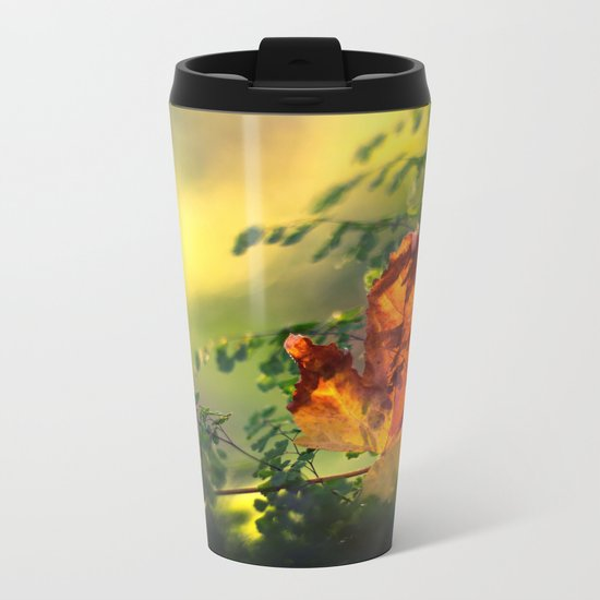 Graceful Metal Travel Mug