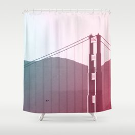 Golden Gate Dreams in San Francisco Shower Curtain