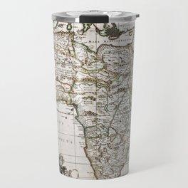 Vintage Africa map Travel Mug