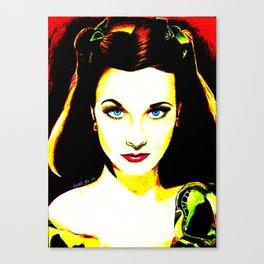 Pop Vivien Canvas Print