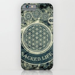 Sacred Geometry for your daily Life iPhone Case