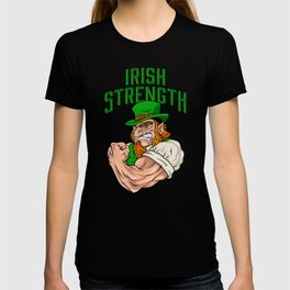 Irish Strength - Fitness Leprechaun Training T-shirt