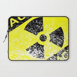Radioactive Grunge Sign Laptop Sleeve