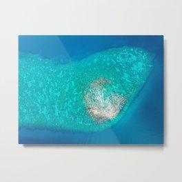 Blue waters Metal Print