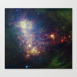 Small Magellanic Cloud Canvas Print
