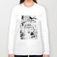 comic Long Sleeve T-shirts featuring comic by Joshwa