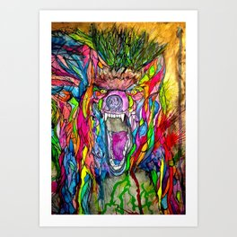 Guardian of Owl Farm Art Print