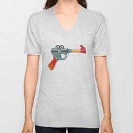 Gun Toy Unisex V-Neck