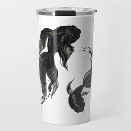Koi fishes Travel Mug