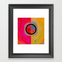 The Dualism Framed Art Print