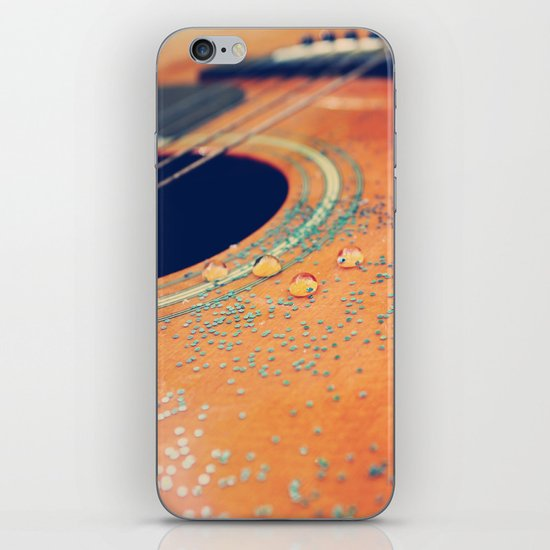 Teardrops on my Guitar iPhone & iPod Skin