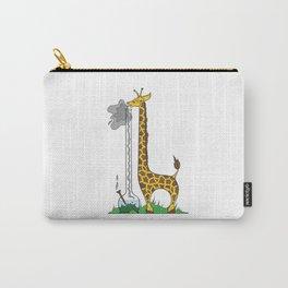 Long Long Giraffe Bong Carry-All Pouch