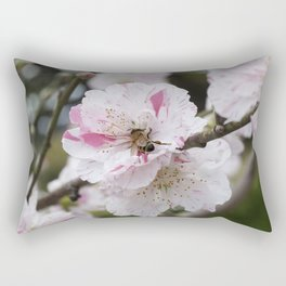 Peach Blossom Rectangular Pillow