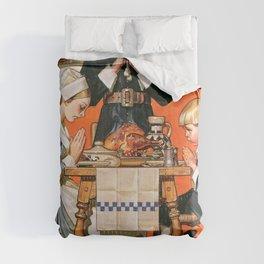Joseph Christian Leyendecker - Thanksgiving Day 1648 - Digital Remastered Edition Comforters
