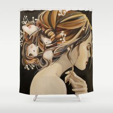 Rats Nest Shower Curtain