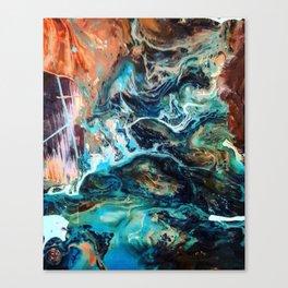 Cosmic river Canvas Print