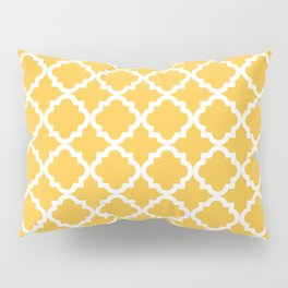 Yellow Vintage Pattern Pillow Sham
