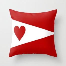 lanarkshire flag Throw Pillow