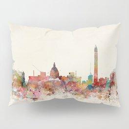 washington dc skyline Pillow Sham