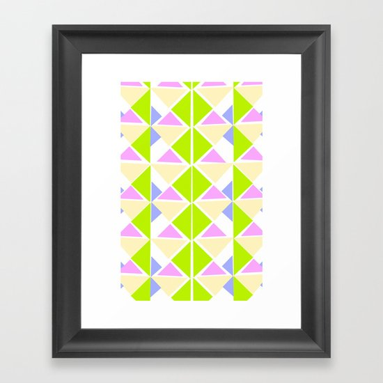 Deco 2 Framed Art Print
