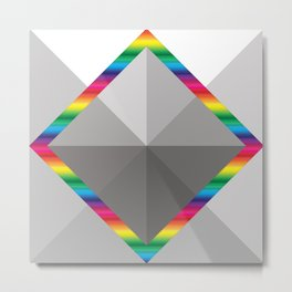 MultiSquare Prism Metal Print