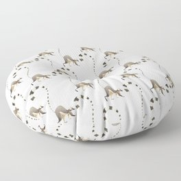 Lemur Floor Pillow