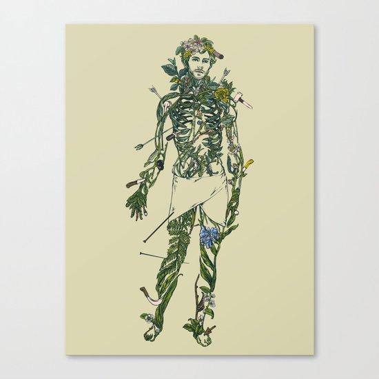Wound Man Canvas Print