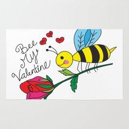 Bee My Valentine Rug