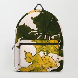 Hello fall, mustard yellow Backpack