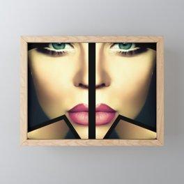 Divided Soul Framed Mini Art Print
