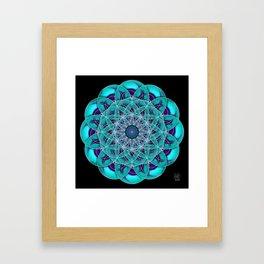 Finding Higgs Boson Framed Art Print