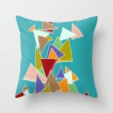 Triads Triads Triads Throw Pillow