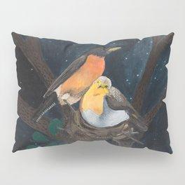 Robins in Nest Pillow Sham