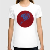 fairy tail T-shirts featuring Fairy Tail Segmented Logo (Erza) circle by JoshBeck