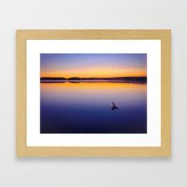 Calm morning Framed Art Print