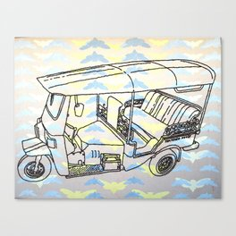 Cicada Tuk Tuk Canvas Print
