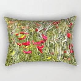 Poisoned Poppies Rectangular Pillow