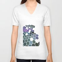 arizona V-neck T-shirts featuring Arizona by Bakmann Art