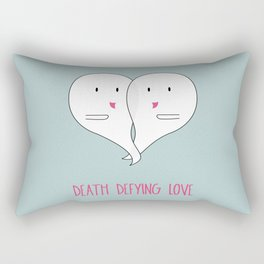 Death Defying Love Rectangular Pillow
