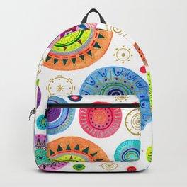 festive flowers Backpack