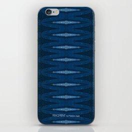 Barque Bleue iPhone Skin