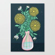 Chrysanthemum Bouquet Canvas Print