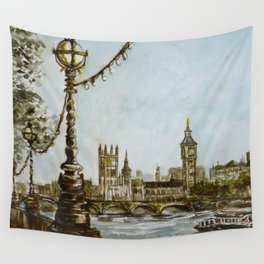 London view Wall Tapestry