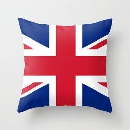 UK Flag Union Jack Throw Pillow