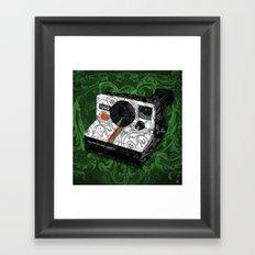 Horror Vacui - POLAROID Framed Art Print