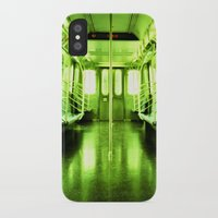 subway iPhone & iPod Cases featuring Subway by Jacquie Fonseca