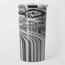 Eye Glitch Art Travel Mug