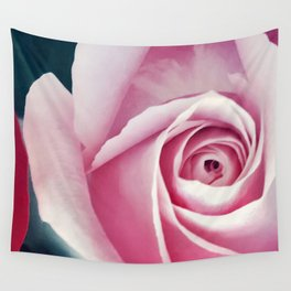 Pink Lady Wall Tapestry