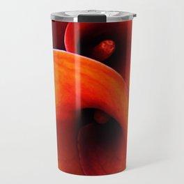 Orange Calla Lillies Travel Mug