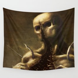 Mouthface Wall Tapestry